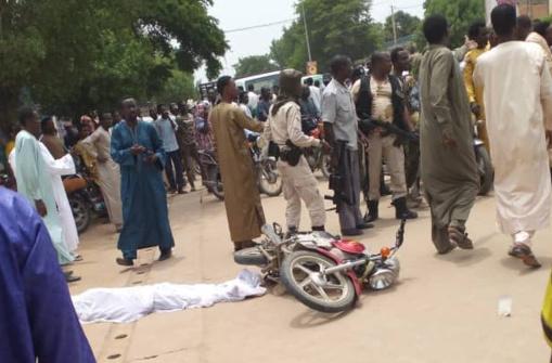 Motorcycle Murder Victim